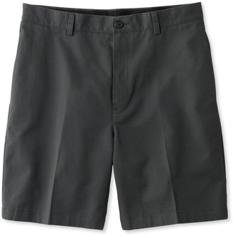 "L.L. Bean L.L.Bean Men's Wrinkle-Free Double LA Chino Shorts, Natural Fit Plain Front 8"" Inseam"