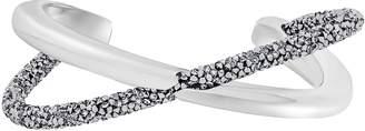 Swarovski Crystal Crystaldust Gray Cross Cuff