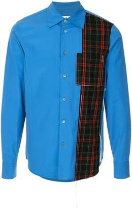 Marni tartan stripe shirt