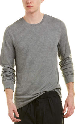Vince Ribbed Crew T-Shirt