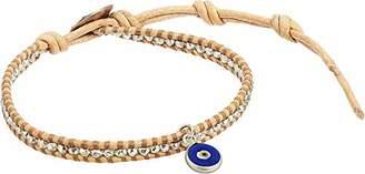 Chan Luu Women's Evil Eye Single Wrap Bracelet