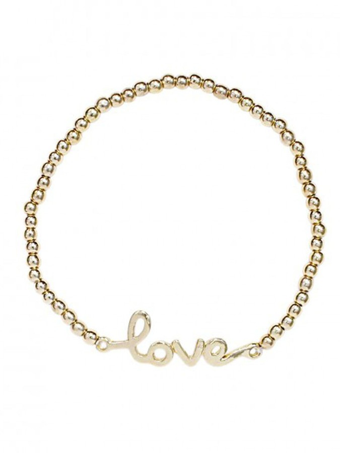 Style Tryst Cursive Love Bracelet