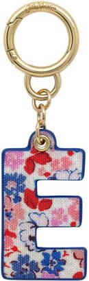 Cath Kidston Mews Ditsy Bag Charm/Key Ring Initial Charm E