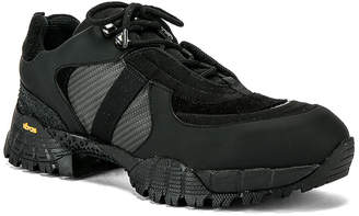 Alyx Low Hiking Boot in Black | FWRD