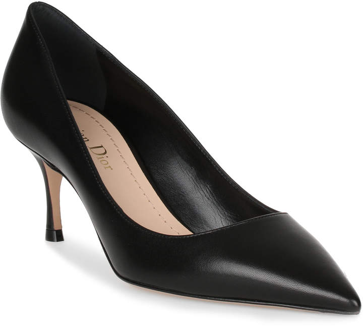 Dior D-Stiletto 65 black classic leather pump