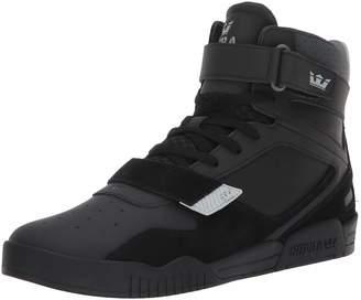 Supra Breaker Skate Shoe, Light Grey-Black, 11.5 Regular US