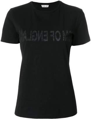 Helmut Lang inner printed T-shirt
