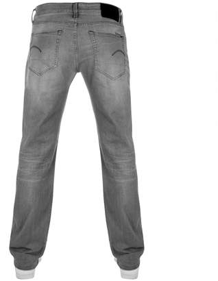 G Star Raw 3301 Straight Jeans Grey