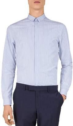 The Kooples Ascot Stripes Slim Fit Sport Shirt