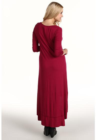 Kensie High-Low 3/4 Sleeve Dress