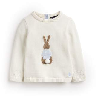 6f22a42b07bb Joules Cream Peter Rabbit Ivy Intarsia Knitted Jumper Size 18M-24M