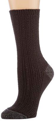 Cuddl Duds 1Pr Crew Boot Socks- Womens