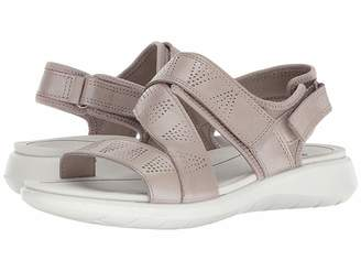 Ecco Soft 5 Cross Strap Sandal Women's Sandals