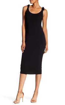 philosophy Tie Strap Midi Dress