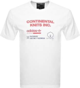 adidas Kaval T Shirt White