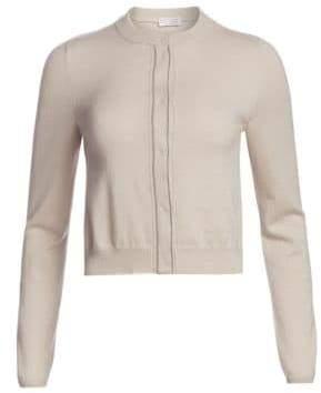 Brunello Cucinelli Cropped Cashmere Cardigan