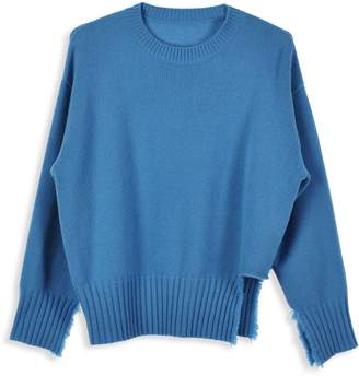 Mo&Co. Merino Wool Crew Neck Sweater