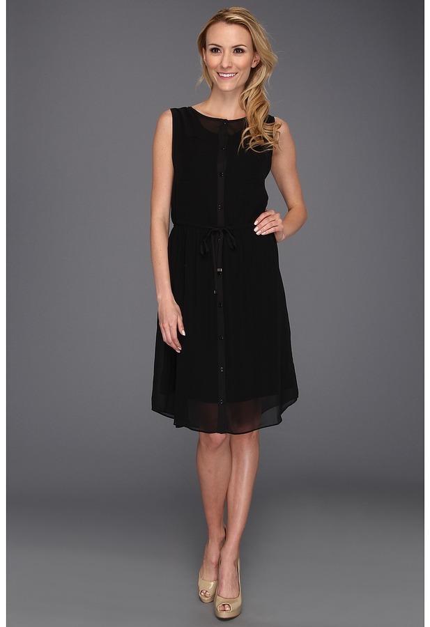 Kenneth Cole New York - Amy Dress (Black) - Apparel