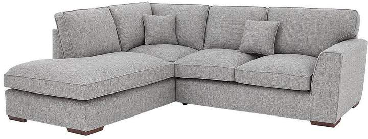 Rio Fabric Left Hand Standard Back Corner Chaise Sofa