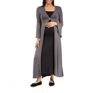 24/7 Comfort Apparel Cardigan-Maternity