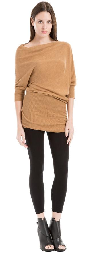 Knitted Asymmetrical Sweater Dress
