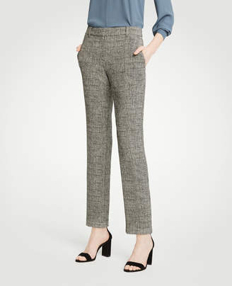 Ann Taylor The Ankle Pant In Crosshatch