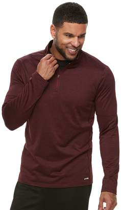 Tek Gear Men's Stretch Quarter-Zip Top
