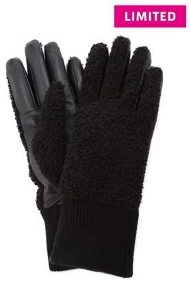 UGG (アグ) - 【ugg】faux Sherpa Glove Bx