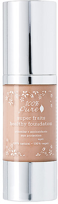 100% Pure Full Coverage Foundation w/Sun Protection.