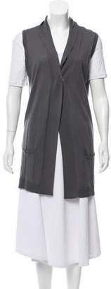 Calvin Klein Collection Longline Cashmere Vest