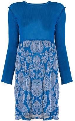 Issey Miyake botanical print dress