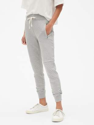 Gap Quilted Moto Joggers in French Terry