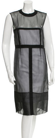 CelineCéline Silk Midi Dress