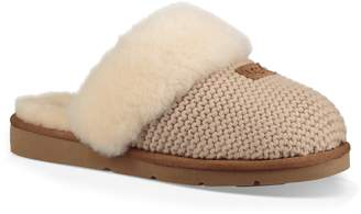 UGG Cozy Knit Genuine Shearling Slipper