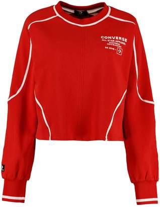 Converse (コンバース) - Converse Cotton Crew-neck Sweatshirt