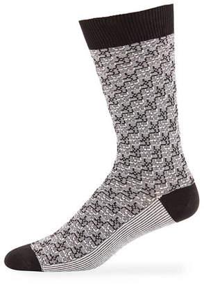 Ace & Everett Men's Thompson Two-Tone Socks