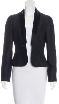 Alessandro Dell'Acqua Shawl-Lapel Patterned Blazer