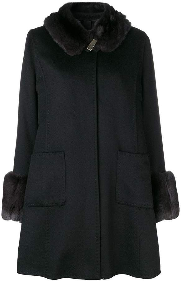 Liska cashmere winter coat