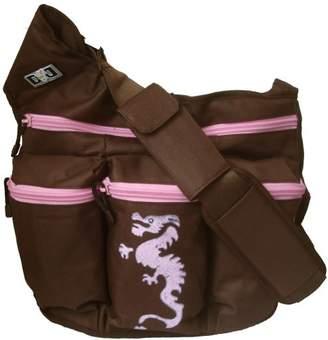Diaper Dude Dragon Diaper Diva Bag (Brown/Pink)