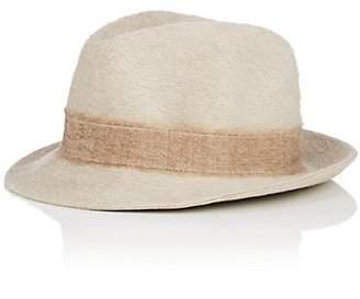 35c4a3e95a4a5 Borsalino Women s Alessandria Fur Felt Trilby Hat - Beige