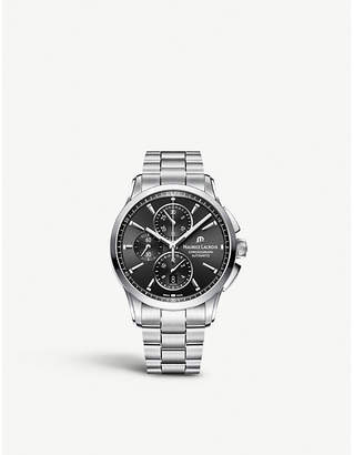 Maurice Lacroix PT6388-SS002-330-1 Pontos stainless steel chronograph watch