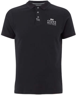 Crosshatch Men's Princeton Polo Shirt - Night Sky