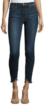 Joe's Jeans The Charlie Ankle Skinny Jeans with Frayed Hem, Tania $179 thestylecure.com