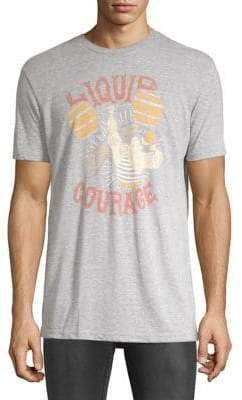 Lucky Brand Liquid Courage Graphic Tee