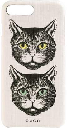 9c2951012ca5d4 Gucci iPhone 8 Plus case with Mystic Cat