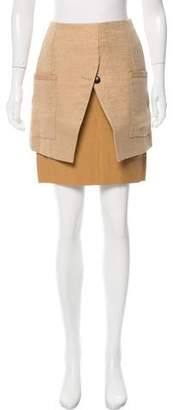 Trussardi Draped Mini Skirt w/ Tags