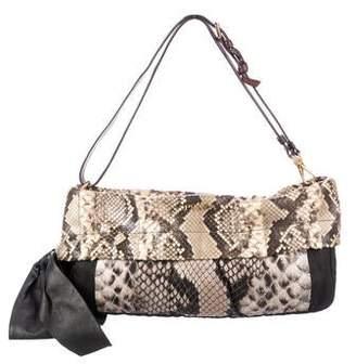 3db11cfcc7 Prada Python & Tessuto Shoulder Bag