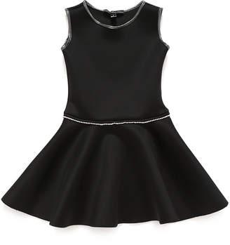 Couture Dolls and Divas ラインストーン パイピング ノースリーブドレス ブラック 16