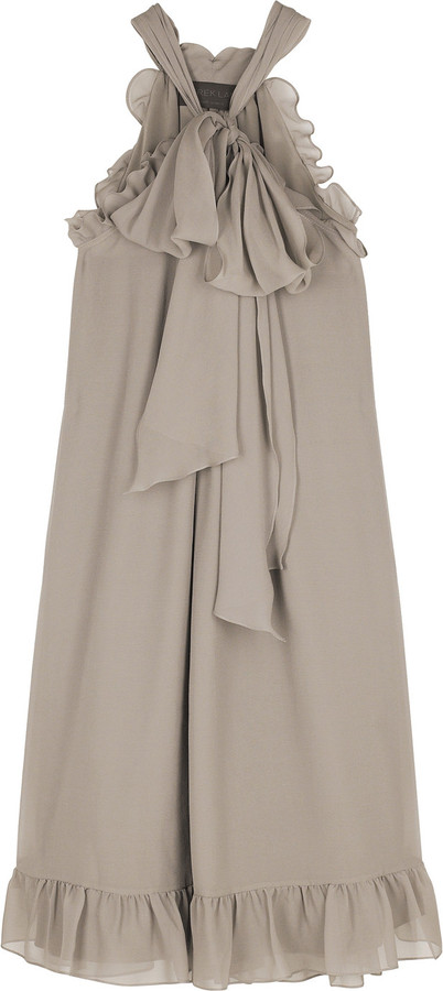 Derek Lam Bow front mini dress