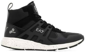 Emporio Armani Ea7 hi-top trainers
